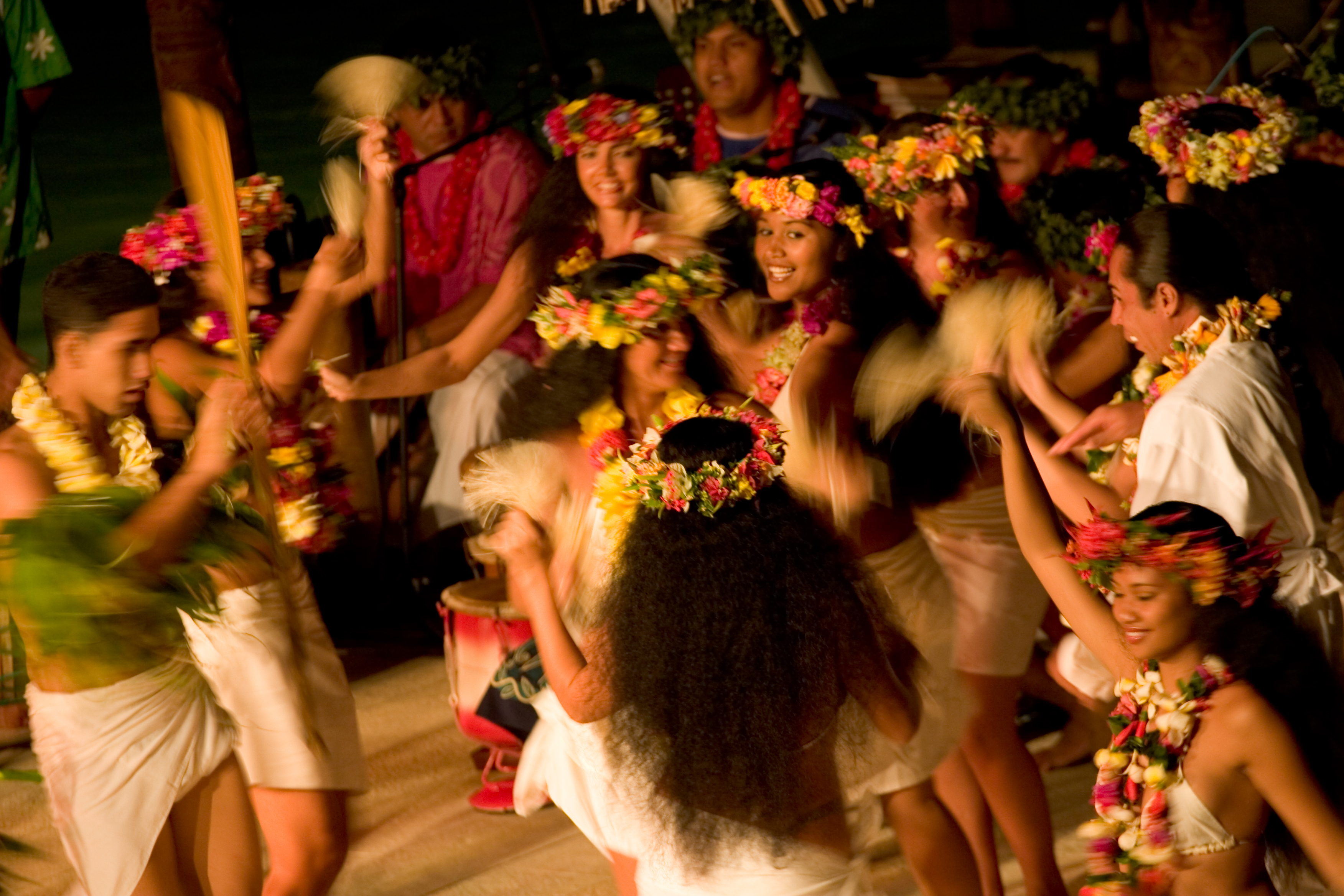 Traditional Polynesian dancing